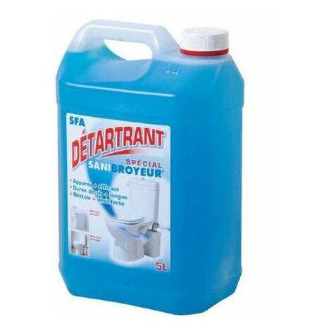 Desincrustante para molinillos de inodoro, bidón de 5 litros