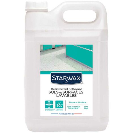 """main image of """"Désinfectant nettoyant multi-surfaces 5L STARWAX"""""""