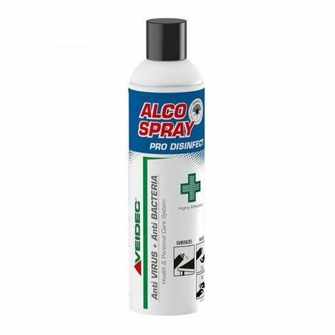 Desinfectant virucide aerosol