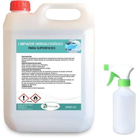 Desinfectante de superficies, uso profesional 5 Litros