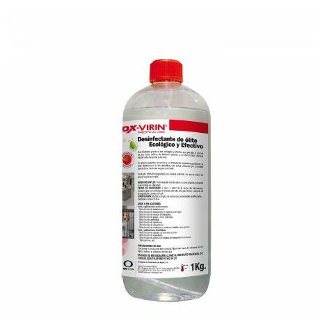 Desinfectante Liquido Ox-Virin, Con Tapón, 1 Litro, Ecologico