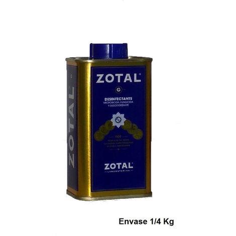 Desinfectante recinto para vivienda ZOTAL® (microbicida, fungicida y desodorizante) - 1/4 Kg