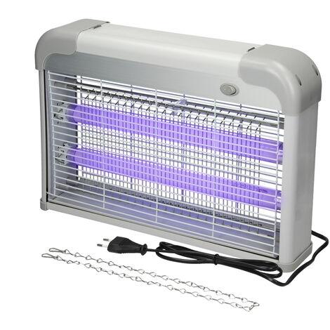 Désinsectiseur électrique UV destructeur insectes lumière silencieux 20W