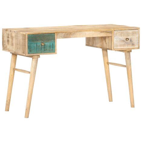 Desk 118x50x75 cm Solid Mango Wood
