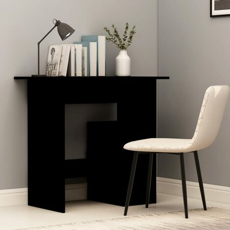 Desk Black 80x45x74 cm Chipboard