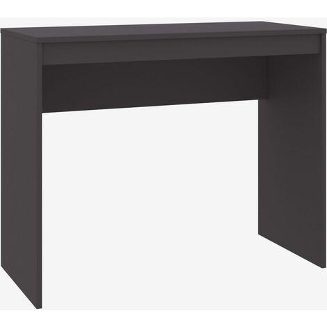 Desk Grey 90x40x72 cm Chipboard