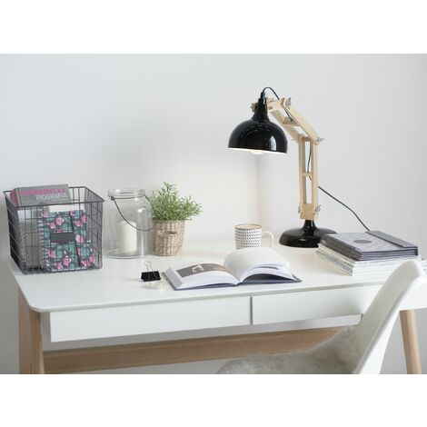 Desk Lamp Black SALADO