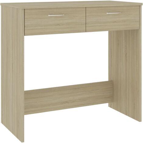 Desk Sonoma Oak 80x40x75 cm Chipboard