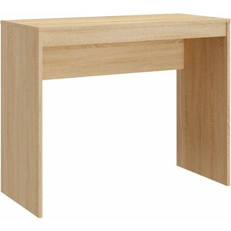Desk Sonoma Oak 90x40x72 cm Chipboard