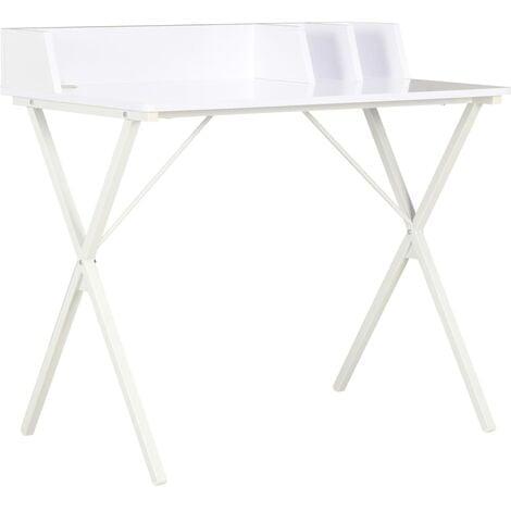 Desk White 80x50x84 cm - White