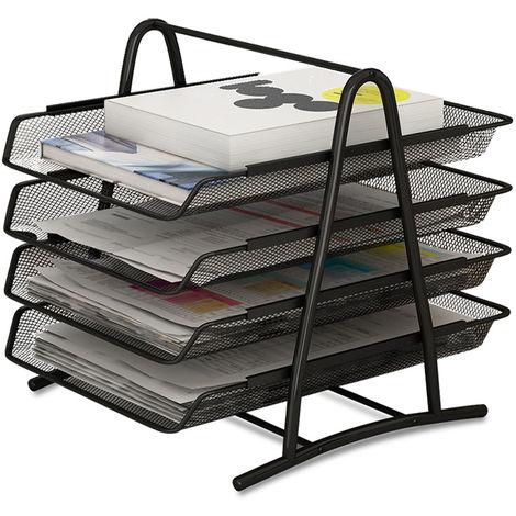 Desktop organizer & àsliding tray 4 Level