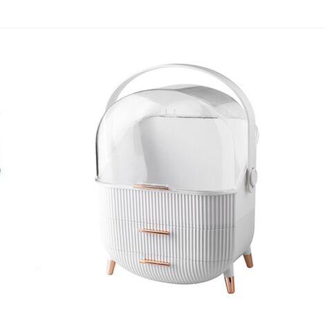 Desktop Storage Box Creative Cosmetic Storage Box Seamless Storage Box For Makeout Box Waterproof Storage Bathroom