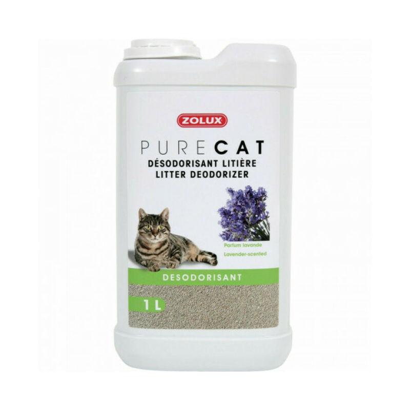 Désodorisant pour litière Purecat 1 Litre - Lavande