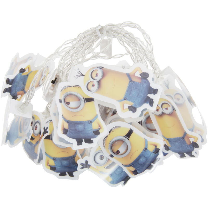 Image of Official Minions String Lights (One Size) (Multicoloured) - Despicable Me