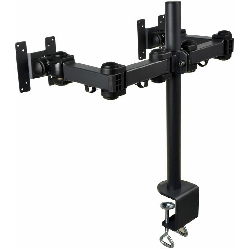 Image of LCD Monitor Arm Dual 45 cm Black - Black - Desq