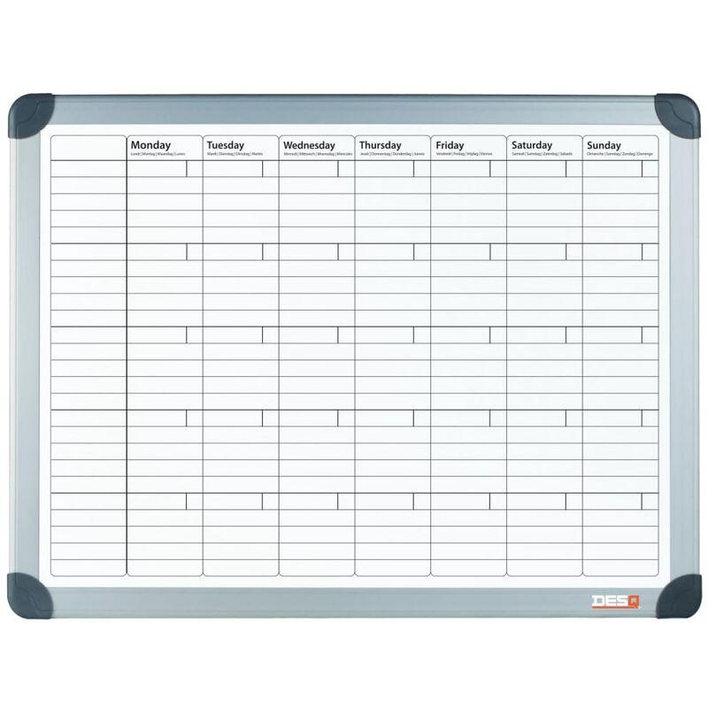 Image of Magnetic Month Planner 60x90 cm White - White - Desq