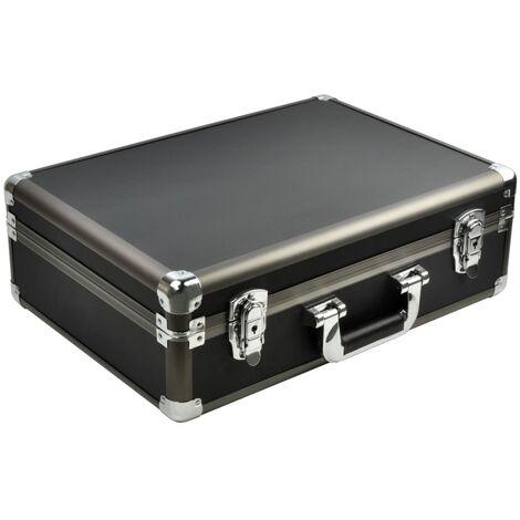 DESQ Mallette de protection universelle ABS Large Noir
