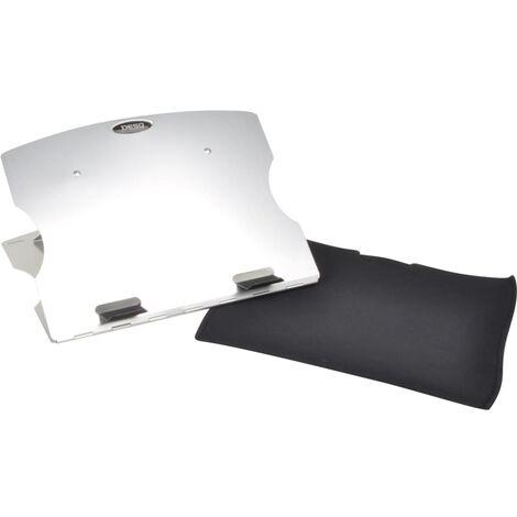 DESQ Support pour ordinateur portable 35x24x0,6 cm Aluminium