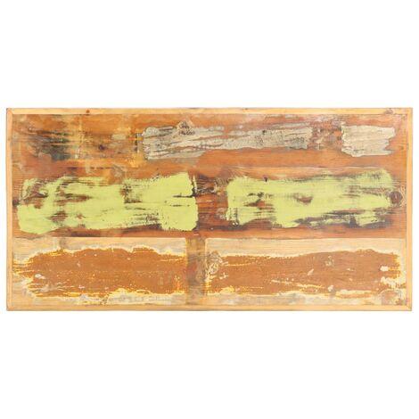 Dessus de table Bois de récupération massif 16 mm 120x60 cm