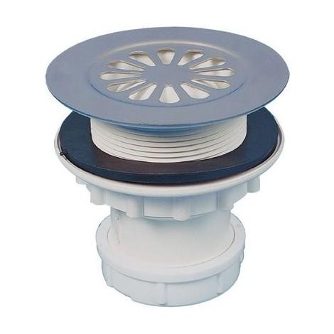 Déstock Valentin - Bonde siphoïde PVC verticale pour receveur grès Ø 60 mm