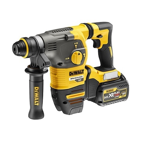 Déstockage - DeWalt - Perforateur burineur à batterie SDS-Plus 18/54V 6.0Ah Li-Ion 2.8J - DCH323T2 - TNT