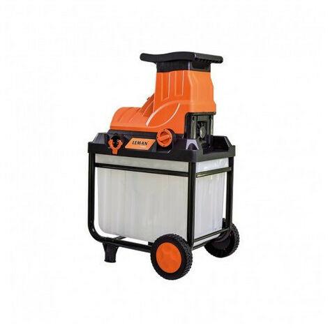 Déstockage - Leman - Broyeur végétaux électrique 2800W 45mm - LOBRE045