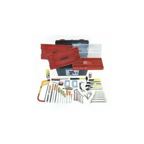 Déstockage - Outifrance – Caisse à outils PRO + 56 pièces