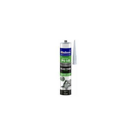 Déstockage -Quilosa Professionnal - Cartouche Mastic colle polyuréthane 300 ml gris - 6571110