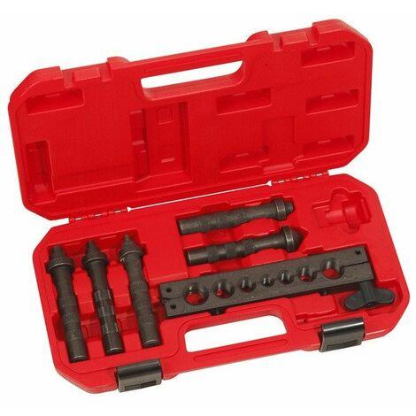 Déstockage - Virax - Appareil à battre les collets matrice pour tube Ø 6 - 8 - 10 - 12 - 14 mm