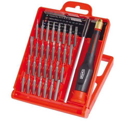 Destornillador precisión 32 accesorios - talla