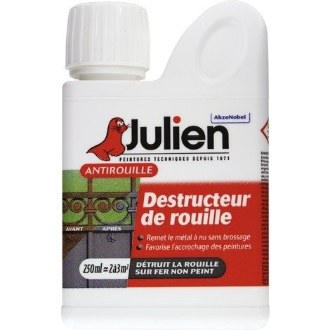 Destructeur de rouille Ot rouille Julien