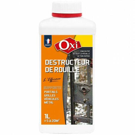 Destructeur de rouille - plusieurs modèles disponibles