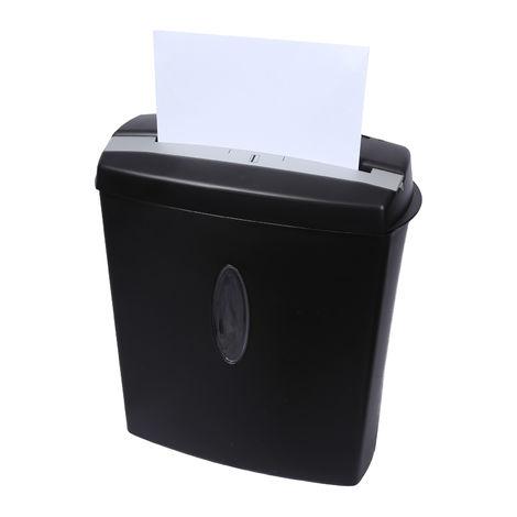 Destructora de papel (corte cruzado) 10 Hojas CDs Tarjetas Protección sobrecalentamiento