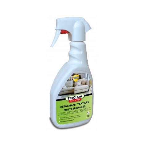 Détachant tissu - Texclean - 750ml - tissu, matelas, canapé et tapis- détachant et nettoyant professionnel