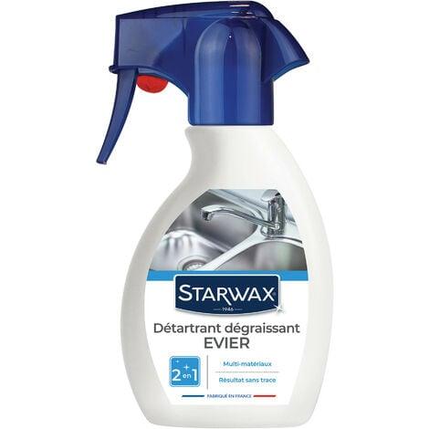 Détartrant dégraissant pour évier 250ml STARWAX