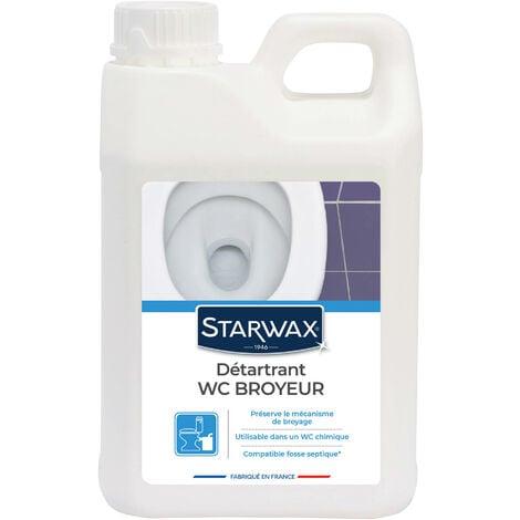 """main image of """"Détartrant pour WC broyeurs 2L STARWAX"""""""