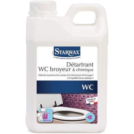Détartrant pour WC broyeurs bidon de 2 litres - Starwax