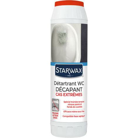 """main image of """"Détartrant surpuissant en poudre pour WC 1kg STARWAX"""""""