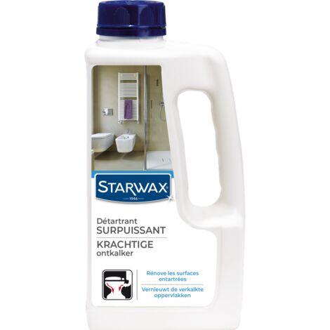 Détartrant surpuissant sanitaires Starwax - 1L