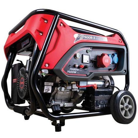 """DeTec. DT-7500E-3 230V/400V Benzin-Generator 7500 Watt mit E-Start-""""WK20000100135"""""""