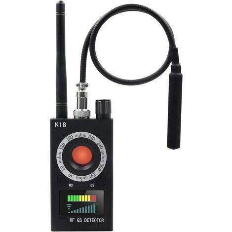 Détecteur Anti-Espion Détecteur de Caméra Détecteur de Signal RF Détecteur de Bogue GPS Détecteur de Caméra Cachée Détecteur de Fréquence de Scanner Radio Radar pour Dispositif de Suivi GSM