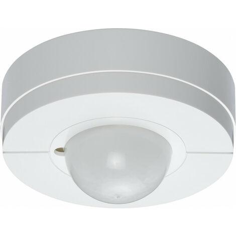 Détecteur couloir IR plaf saillie blanc (EE880)