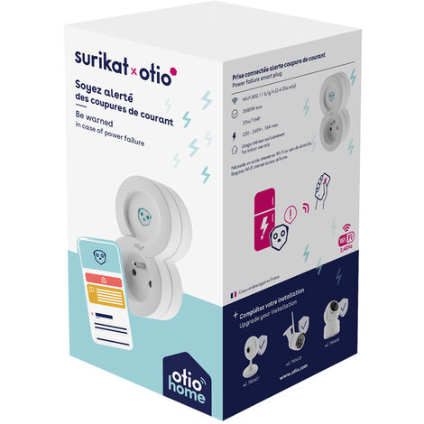 Détecteur de coupure électrique connecté Surikat - Otio