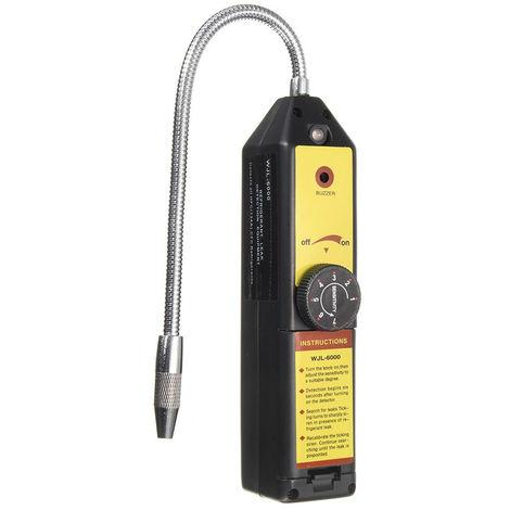 Detecteur De Fuite D'Halogene Refrigerant, Testeur De Detection De Fuite De Gaz, Noir