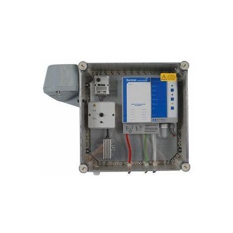Détecteur de fuite sous vide Afriso Eurovac NV dans boîtier de protection