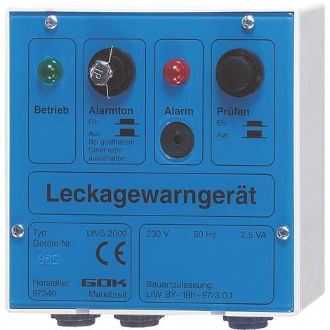 Detecteur de fuite type LWG 2000