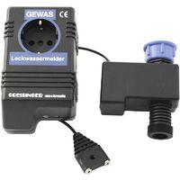 Détecteur de fuites d'eau avec alarme, coupure de courant et d'eau D35249
