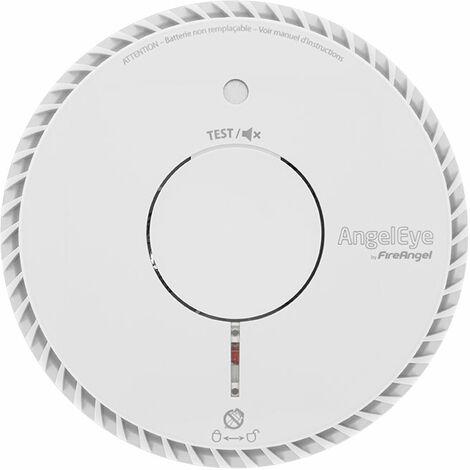 AngelEye - Détecteur de fumée NF Autonomie et Garantie 10 ans ELEGANCE EXPERT ST-AE620-FR ST620