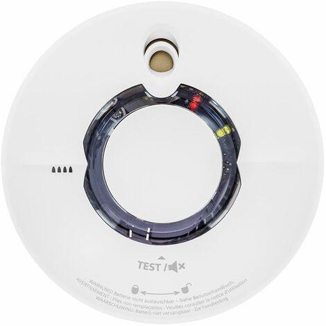 Détecteur de fumée interconnectable sans fil Autonomie 10 ans Delta Reflex 5TC1292-4 (WST630) - SIEMENS