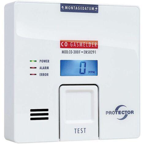 Détecteur de gaz Protector CO-300F à pile(s) 1 pc(s)